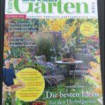 """Garten Zeitschrift """"Mein schöner Garten"""" Oktober 2016"""